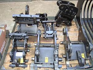 Snelwissel CW05 hydraulisch en mechanisch
