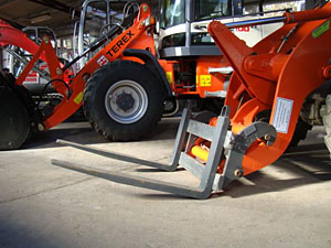 Palletvorken voor Atlas shovel