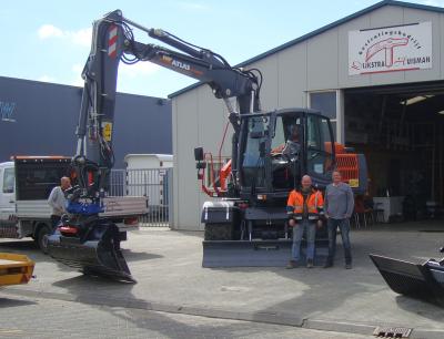 Blaauw Rolde levert Atlas 150W aan Dijkstra & Huisman