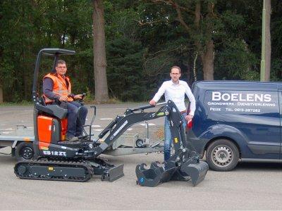Boelens Dienstverlening kiest voor Eurocomach ES12 ZT4