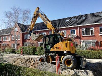 Hydrema op DEMO bij Broekema Wegenbouw