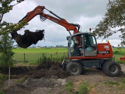 Loonbedrijf Poortinga wederom een machine van Blaauw Rolde